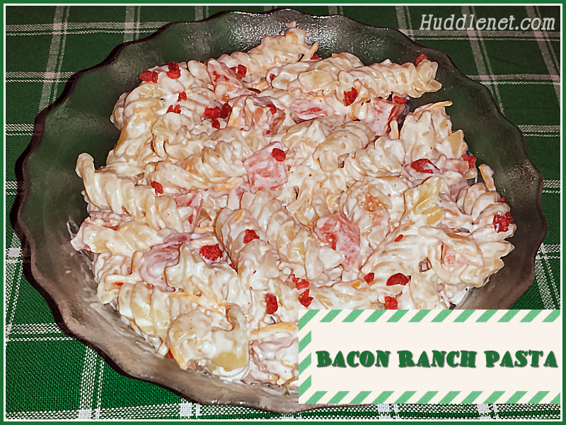Bacon Ranch Pasta – A Mouthwatering Salad