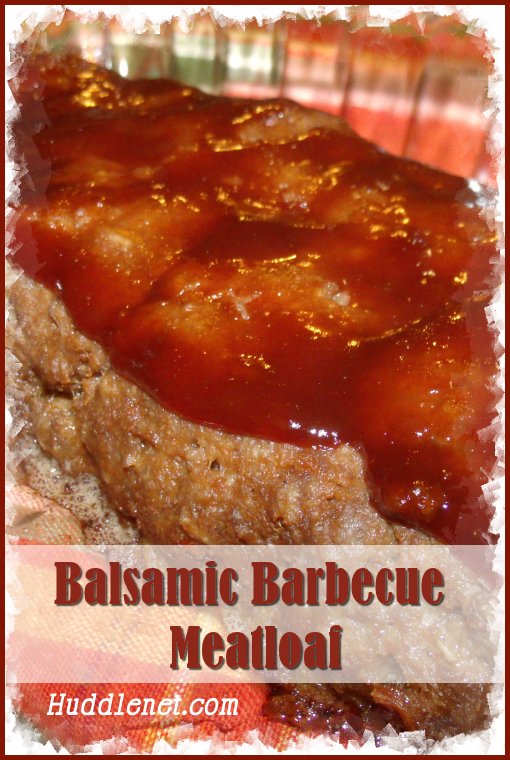 Balsamic Barbecue Meatloaf POST