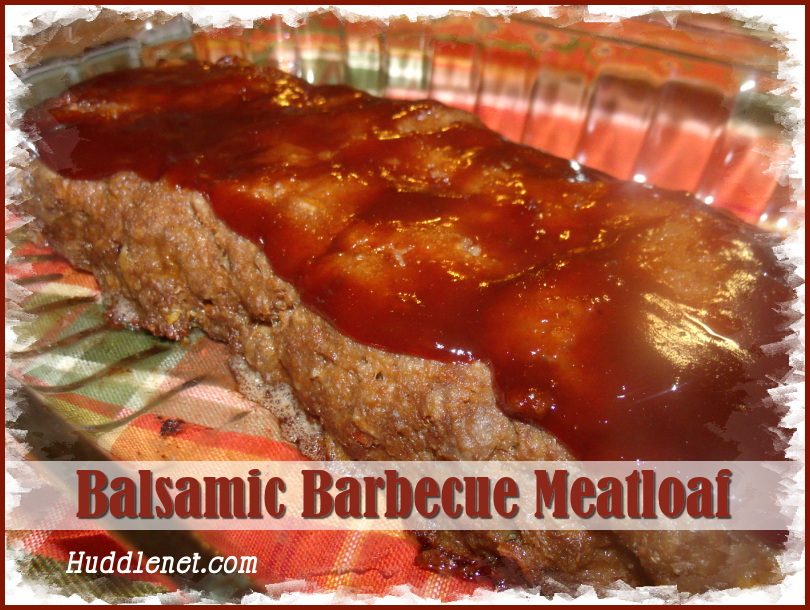 Balsamic Barbecue Meatloaf