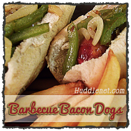 Barbecue Bacon Dogs sq