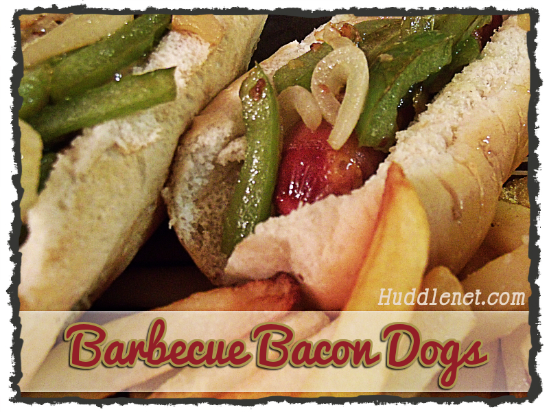 Barbecue Bacon Dogs