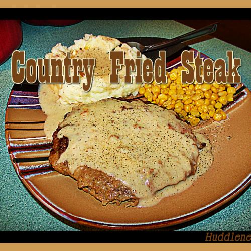 Country Fried Steak Recipe by Huddlenet.com