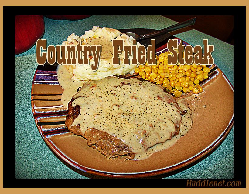 Country Fried Steak & Gravy