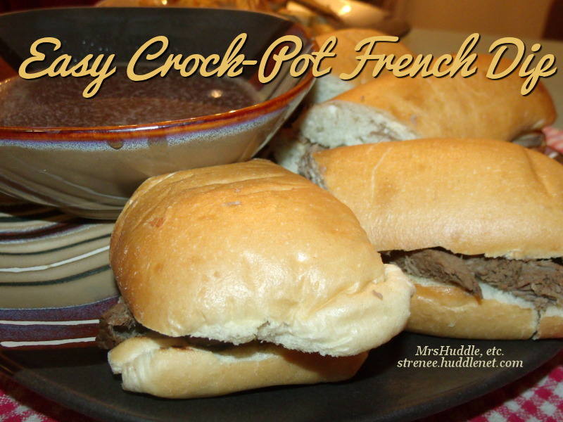 Easy Crock-Pot French Dip