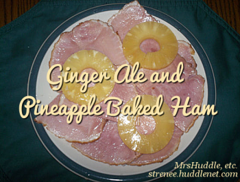 Ginger Ale and Pineapple Baked Ham