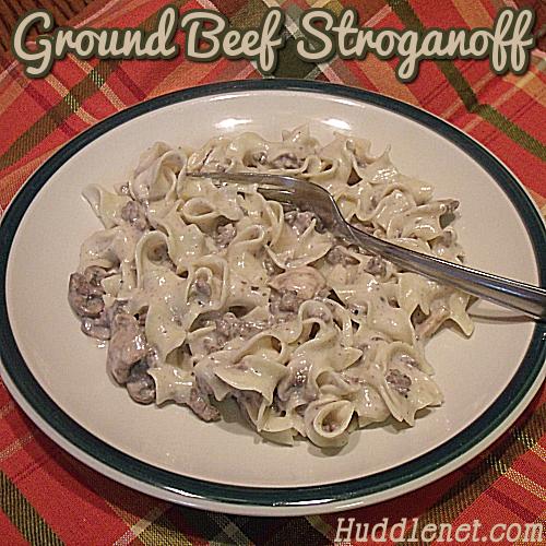 Ground Beef Stroganoff sq