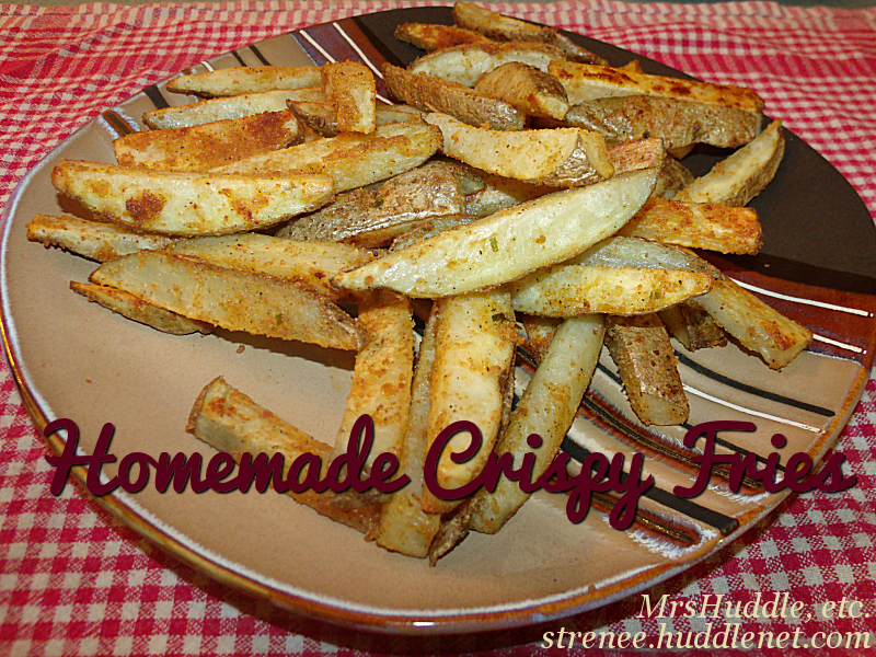 Homemade Crispy Fries