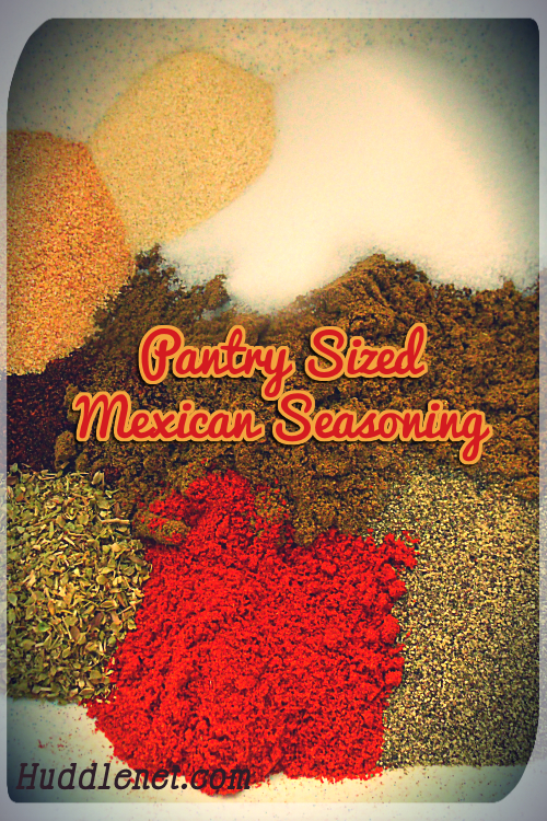 Pantry Sized Mexican Seasoning POST