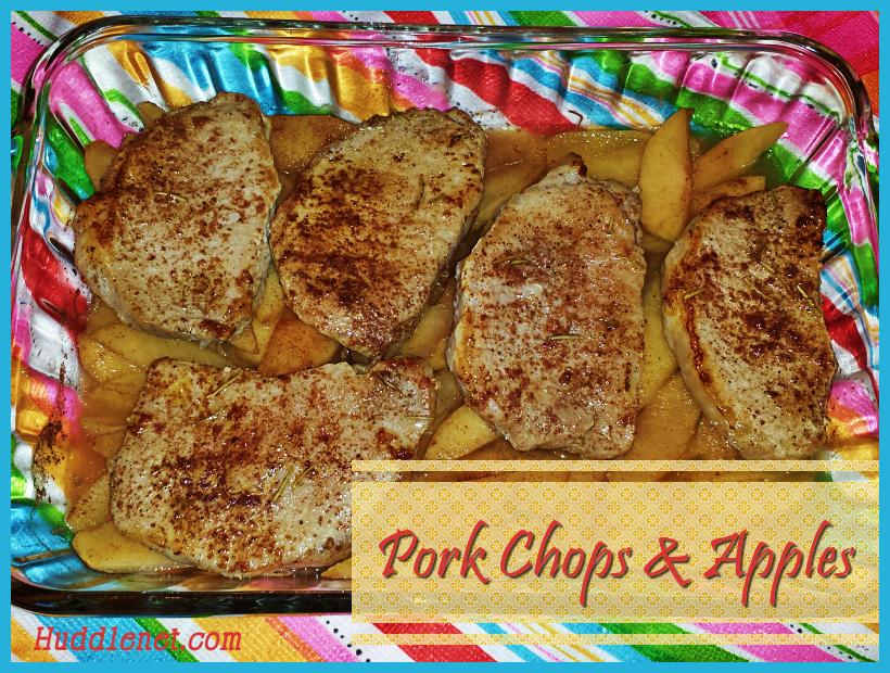 Pork Chops & Apples