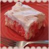 Strawberry Marble Cake is a moist, easy cake to make that tastes like a little bit of strawberry heaven! | #Strawberries #Cake #Easy #Dessert #Recipes | http://huddlenet.com