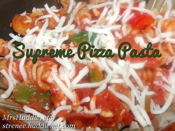 Supreme Pizza Pasta