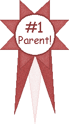 #1 Parent Award school clipart