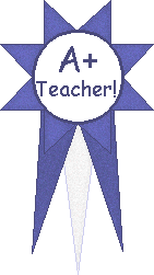 A+ Teacher Award school clipart