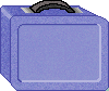 Blue Lunchbox school clipart